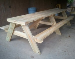 10' Picnic Table DIY