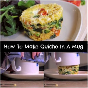 How To Make Quiche In A Mug