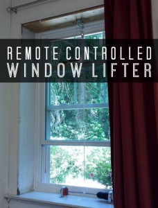 DIY Remote Controlled Window Lifter