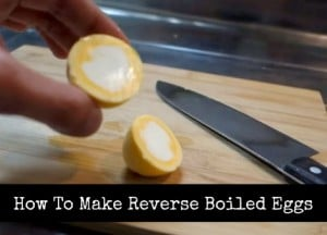 DIY Reverse Boiled Eggs