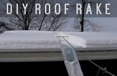 Diy Avalanche Roof Rake Homestead Amp Survival