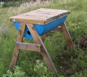 How To Make Barrel Drum Top Bar Bee Hive