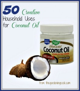 50+ Creative Household Uses For Coconut Oil