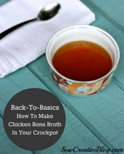Crockpot Bone Broth Recipe