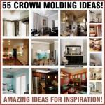 55 Crown Molding Ideas