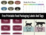 Free Printable Food Packaging Labels And Tags