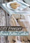 DIY Freezer Butter Cookies