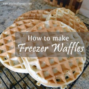 How To Make Freezer Waffles