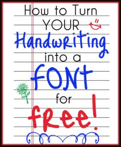 handwriting-into-a-font
