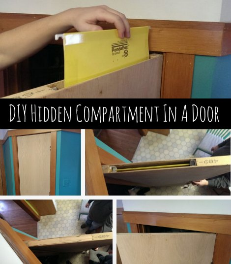 Http Homestead And Survival Com Diy Hidden Compartment