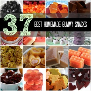 37 Best Homemade Gummy Snacks