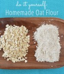 How To Make Homemade Oat Flour