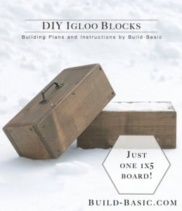 DIY Igloo Blocks