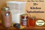 35+ Kitchen Substitutions