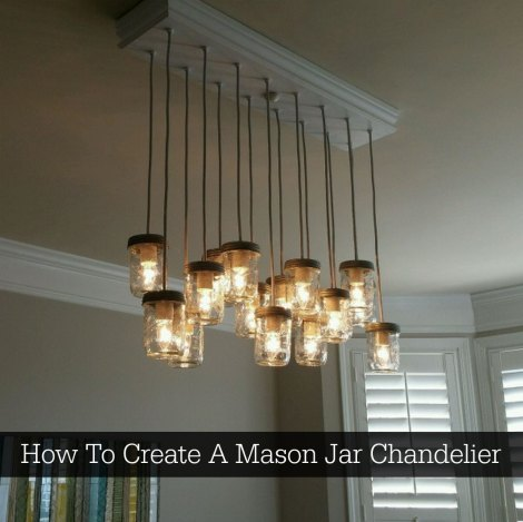 How to create a mason jar chandelier homestead survival mason jar chandelier mozeypictures Image collections