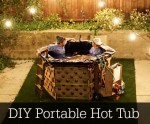 DIY Portable Hot Tub