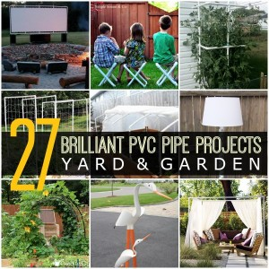 27 Brilliant PVC Pipe Projects For Your Yard & Garden