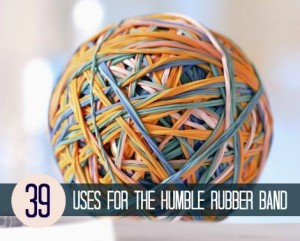 39 New Uses For The Humble Rubber Band