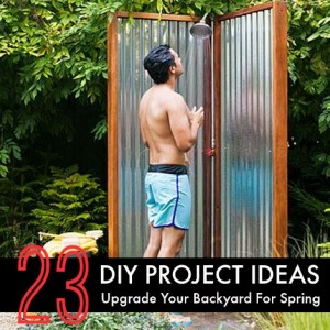 23 DIY Project Ideas To Upgrade Your Backyard For Spring