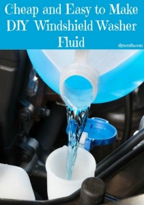 Cheap & Easy DIY Windshield Wiper Fluid