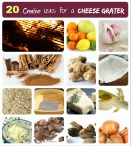 20 Surprising Uses For A Cheese Grater