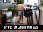 DIY Custom Length Baby Gate