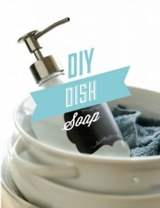 Easy DIY Dish Soap