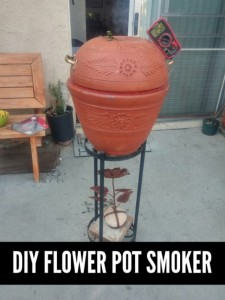 How To Make A Flower Pot Smoker