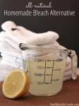 All-Natural Homemade Bleach Alternative