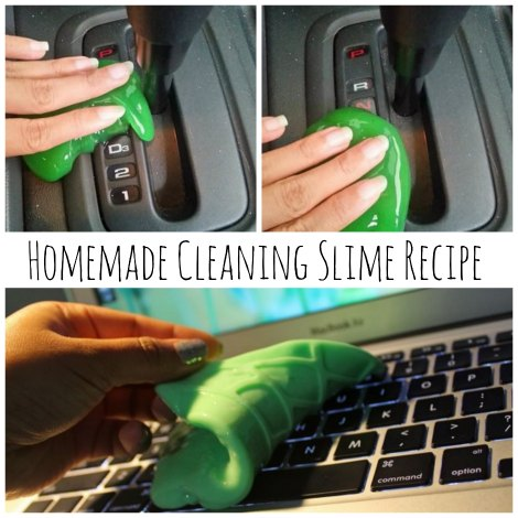 homemade cleaning slime recipe homestead survival. Black Bedroom Furniture Sets. Home Design Ideas