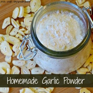 How To Make Homemade Garlic Powder