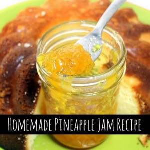 Homemade Pineapple Jam Recipe
