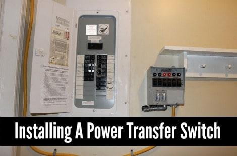 Solar: Installing A Power Transfer Switch