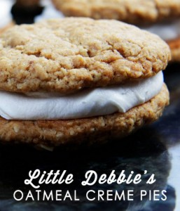 Homemade Little Debbie's Oatmeal Cream Pies Recipe