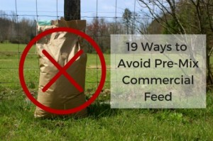 19 Ways To Avoid Pre-Mix Commercial Feed