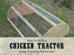 How To Build An Inexpensive Chicken Tractor