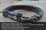 FireKable Paracord Survival Bracelet