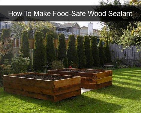 How To Make Food-Safe Wood Sealant