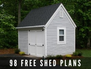 98 Free Shed Plans & Do-It-Yourself Building Guides