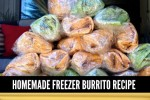 Freezer Burrito Recipe