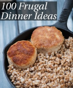 100 Frugal Dinner Ideas