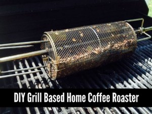 DIY Grill Based Home Coffee Roaster