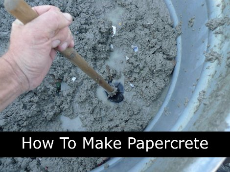 make-papercrete