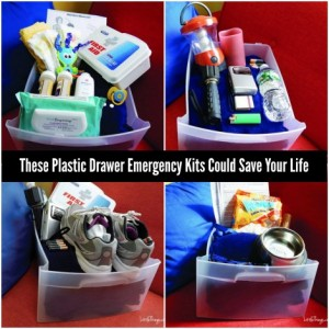 These Plastic Drawer Emergency Kits Could Save Your Life