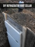 DIY Refrigerator Root Cellar