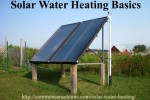 Solar Water Heater Basics