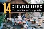 14 Survival Items To Look For At Garage Sales