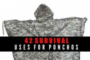 42 Survival Uses For Ponchos