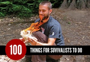 100 Things For Survivalists To Do