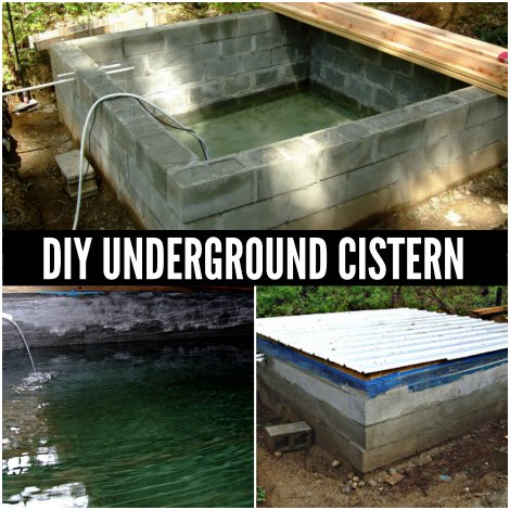 DIY Underground Cister...